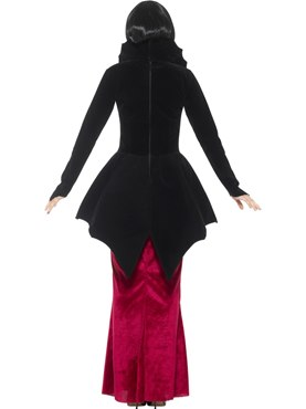 Adult Deluxe Regal Vampiress Costume - Side View
