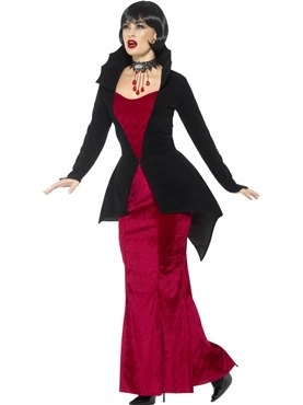 Adult Deluxe Regal Vampiress Costume