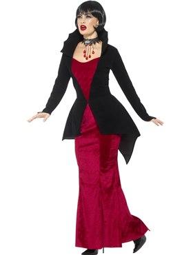 Adult Deluxe Regal Vampiress Costume