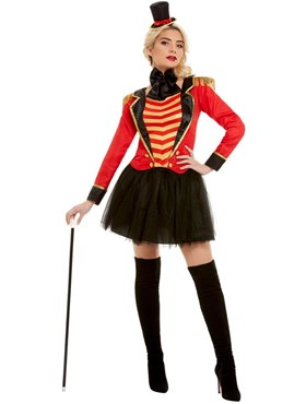 Adult Deluxe The Greatest Showman Ringmaster Lady Costume