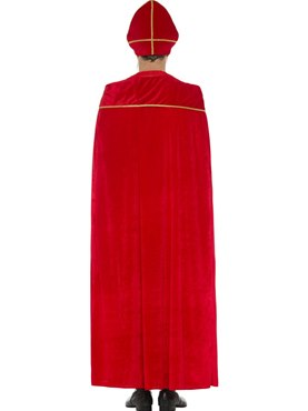 Adult Deluxe Saint Nicholas Costume - Side View