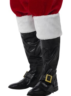 Adult Deluxe Santa Boot Covers