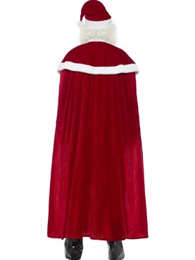 Adult Deluxe Santa Claus Costume - Side View