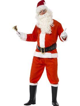 Adult Deluxe Santa Costume