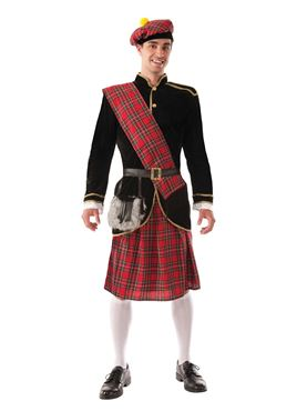 Adult Deluxe Scotsman Costume