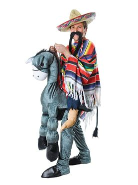 Adult Deluxe 'Hey Amigo' Step In Donkey Costume