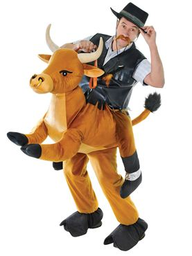 Adult Deluxe Step In Bull Costume