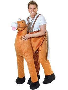 Adult Deluxe Step In Horse Costume