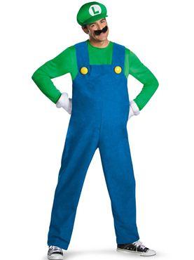 Adult Deluxe Luigi Costume