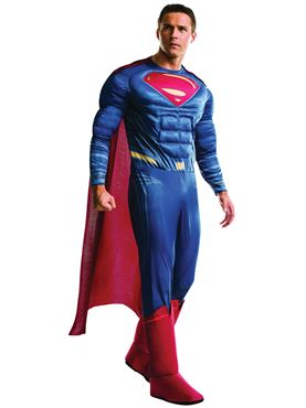 Adult Deluxe Superman Costume