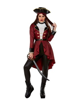 Adult Deluxe Swashbuckler Pirate Costume