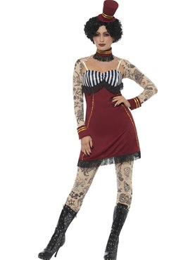 Adult Deluxe Tattoo Lady Costume