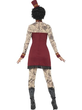 Adult Deluxe Tattoo Lady Costume - Side View