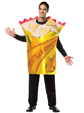 Adult Deluxe Tortilla Chips Costume Couples Costume