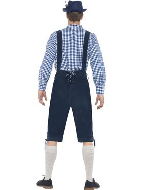Adult Deluxe Traditional Rutger Bavarian Costume - Side View