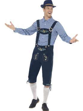 Adult Deluxe Traditional Rutger Bavarian Costume