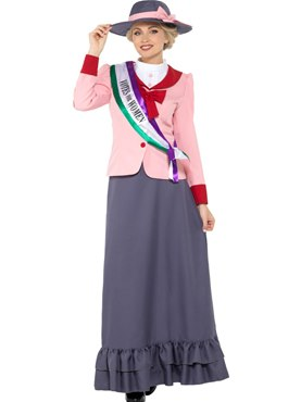 Adult Deluxe Victorian Suffragette Costume