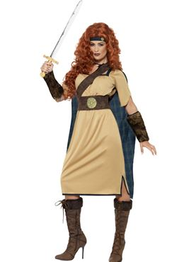 Adult Deluxe Warrior Queen Costume