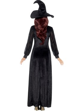 Adult Deluxe Witch Craft Costume - Side View