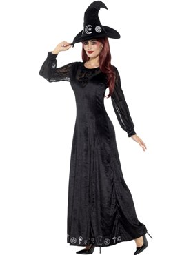 Adult Deluxe Witch Craft Costume - Back View
