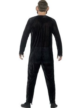 Adult Deluxe Zombie Chimp Costume - Side View