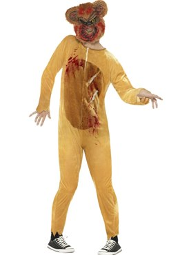 Adult Deluxe Zombie Teddy Bear Costume Couples Costume