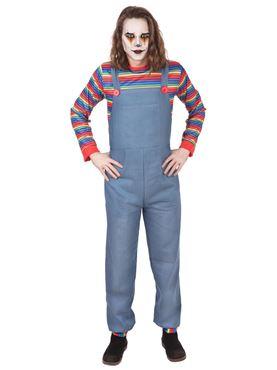 Adult Denim Demon Male Costume
