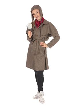 Adult Detective Woman Costume Couples Costume