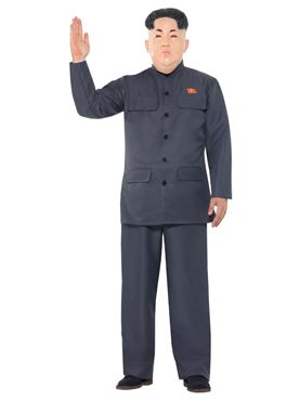 Adult Dictator Costume - Side View