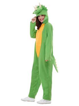 Adult Dinosaur Costume - Side View