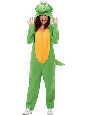 Adult Dinosaur Costume - Back View