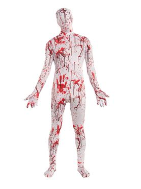 Adult Disappearing Man Bloody Suit