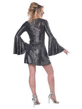 Adult Disco Dance Queen Costume - Side View