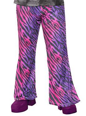 Adult Disco Fever Zebra Flares