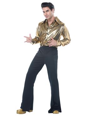 Adult Disco King Costume - Side View