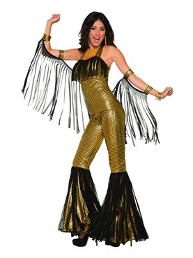 Adult Disco Queen Jumpsuit