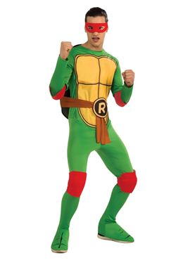 Adult Teenage Mutant Ninja Turtles Raphael Costume Thumbnail