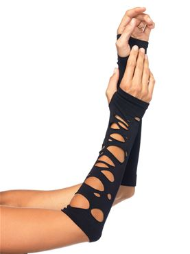 Adult Distressed Arm Warmers