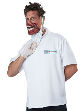 Adult Dr Novocaine Costume - Side View