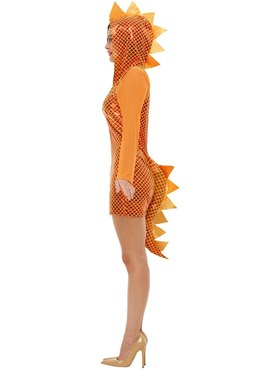Adult Dragon Costume - Back View