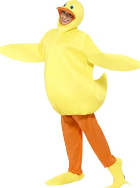 Adult Duck Costume - Back View
