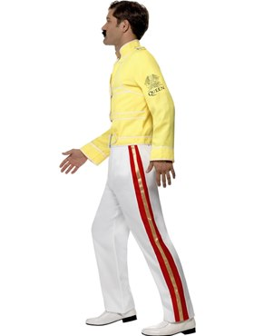 Adult Freddie Mercury Costume - Back View