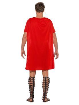 Adult Economy Roman Gladiator Costume - Side View