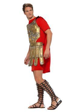 Adult Economy Roman Gladiator Costume - Back View