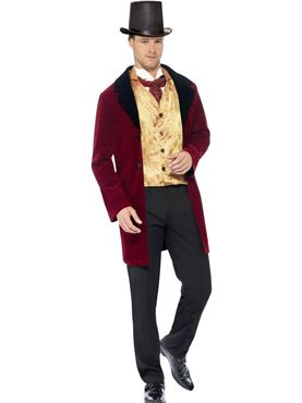 Adult Deluxe Edwardian Gent Costume Thumbnail