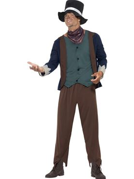 Adult Poor Victorian Man Costume
