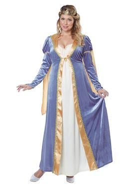 Adult Elegant Empress Plus Size Costume Thumbnail