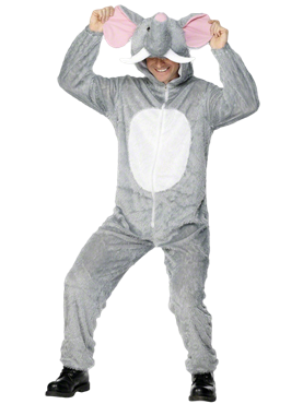 Adult Elephant Costume Couples Costume