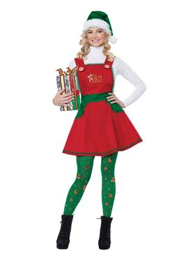 Adult Elf in Charge Costume