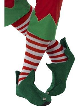 Adult Elf Striped Socks